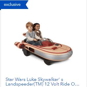 Star Wars Toy Banner Ad